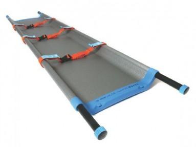 Båre less m/faste håndtak og 3 stropper