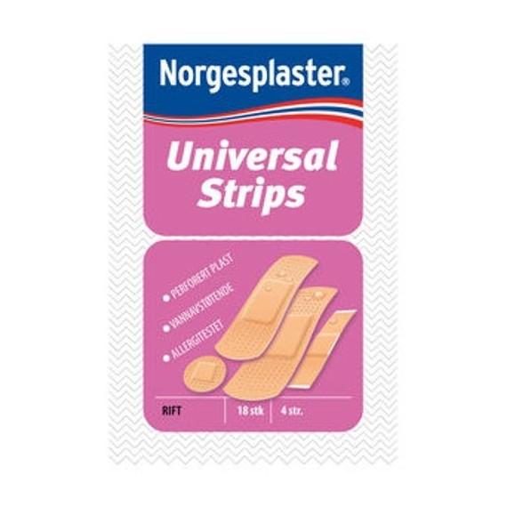 Universal strips plaster 18stk, 4str