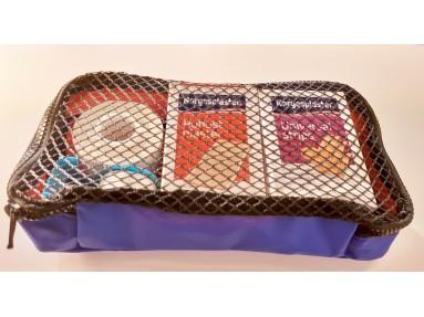 Løs lomme/ taske til førstehjelpssekk. Str 25X12X4 cm