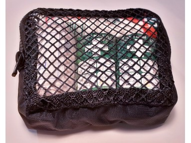 Løs lomme/ taske til førstehjelpssekk. Str 12X12X4 cm
