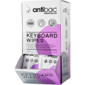 Antibac keyboard wipes 320ml, 80 stk