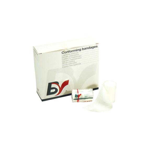 Gasbind elastisk 6cm x 4m enkeltpakket