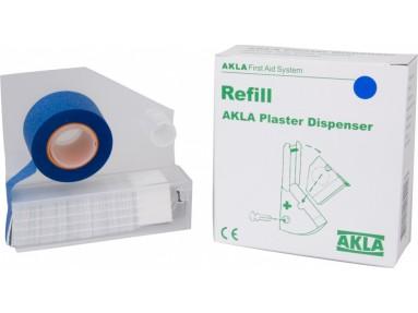 Akla Plasterkassett refill blå