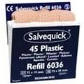 Salvequick plastplaster, eske a 6 innsatser, 6036